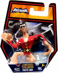 DC Batman Brave and the Bold Action League Mini Figure Plastic Man