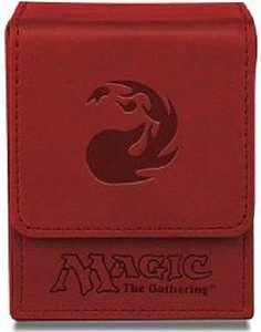 Ultra Pro Magic The Gathering Red Mana Symbol Premium Flip Deck Box