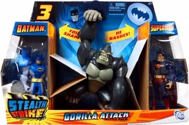 DC Batman Brave and the Bold Stealth Strike Gorilla Attack Battle Pack