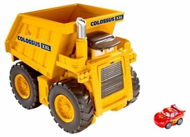 Disney / Pixar CARS Movie Micro Drifters Colossus XXL Car-Chomping Dump Truck [Chomps Up To 15 Cars!]
