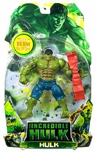 Incredible Hulk Movie Action Figure Hulk [Steel Beam]