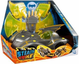 DC Batman Brave and the Bold Stealth Strike 2-in-1 Stealth Jet Batmobile