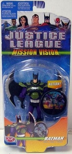 Justice League Action Figure Mission Vision Batman BLOWOUT SALE!