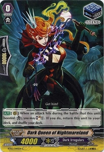Cardfight Vanguard ENGLISH Demonic Lord Invasion Single Card Common BT03-049EN Dark Queen of Nightmareland