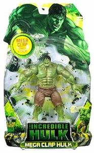 Incredible Hulk Movie Action Figure Mega Clap Hulk