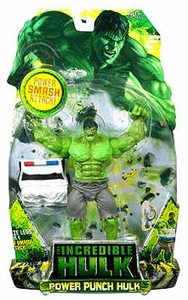 Incredible Hulk Movie Action Figure Power Punch Hulk