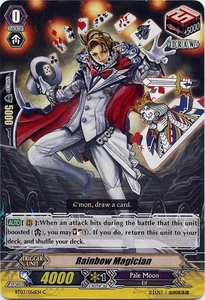 Cardfight Vanguard ENGLISH Demonic Lord Invasion Single Card Common BT03-056EN Rainbow Magician