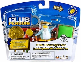 Disney Club Penguin Series 8 Mix 'N Match Mini Figure Pack Sensei with Arch [Includes Coin with Code!]