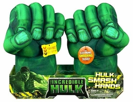 Incredible Hulk Movie Roleplay Toy Hulk Smash Hands