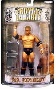 WWE Wrestling PPV Royal Rumble 2007 Action Figure Mr. Kennedy