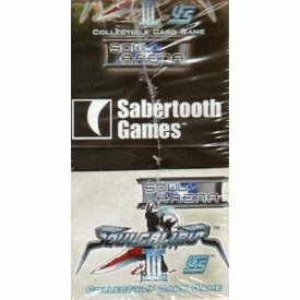 Universal Fighting System (UFS) Card Game Soul Calibur III Soul Arena Booster BOX [24 Packs] BLOWOUT SALE!
