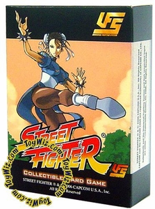 Universal Fighting System (UFS) Card Game Street Fighter Starter Deck Chun-Li