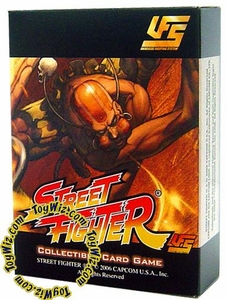 Universal Fighting System (UFS) Card Game Street Fighter Starter Deck Dhalsim