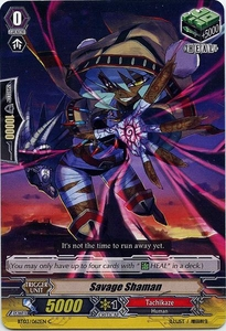 Cardfight Vanguard ENGLISH Demonic Lord Invasion Single Card Common BT03-062EN Savage Shaman