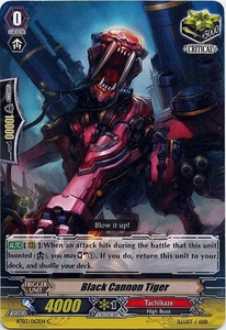 Cardfight Vanguard ENGLISH Demonic Lord Invasion Single Card Common BT03-063EN Black Cannon Tiger