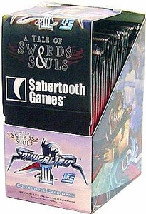 Universal Fighting System (UFS) Card Game Soul Calibur III A Tale of Souls and Swords Booster BOX (24 Packs)