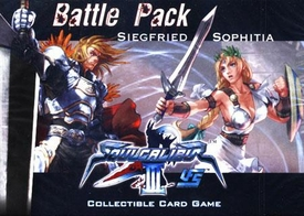 Universal Fighting System (UFS) Card Game Soul Calibur III Battle Pack Siegfried Vs. Sophitia