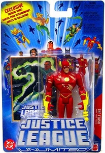Justice League Unlimited Action Figure Battle Damaged Flash