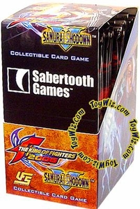 Universal Fighting System (UFS) Card Game King of Fighters / Samurai Shodown Booster BOX [24 Packs]