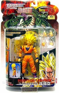 Dragon Ball Z BanDai 4 Inch Hybrid Action Figure Super Saiyan 3 [SS3] Goku
