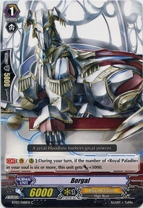 Cardfight Vanguard ENGLISH Demonic Lord Invasion Single Card Common BT03-068EN Borugal