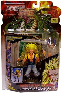 Dragon Ball Z BanDai 4 Inch Hybrid Action Figure Super Saiyan 3 [SS3] Gotenks