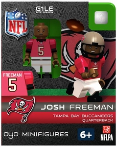 OYO Football NFL Building Brick Minifigure Josh Freeman [Tampa Bay Buccaneers]