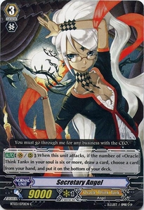 Cardfight Vanguard ENGLISH Demonic Lord Invasion Single Card Common BT03-070EN Secretary Angel