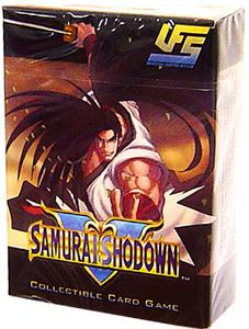 Universal Fighting System (UFS) Card Game Samurai Showdown Starter Deck Haohmaru