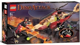 LEGO Dino Attack Set #7477 T-1 Typhoon vs. T-Rex