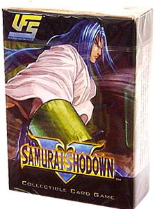 Universal Fighting System (UFS) Card Game Samurai Showdown Starter Deck Ukyo Tachibana