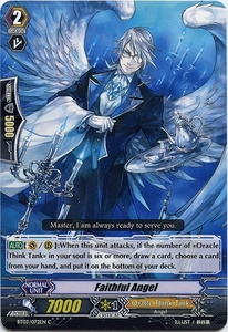 Cardfight Vanguard ENGLISH Demonic Lord Invasion Single Card Common BT03-072EN Faithful Angel