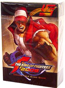 Universal Fighting System (UFS) Card Game King of Fighters 2005 Starter Deck Terry Bogard