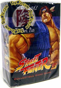 Universal Fighting System (UFS) Card Game Street Fighter Dark Path Starter Deck T. Hawk