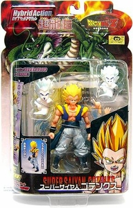 Dragon Ball Z BanDai 4 Inch Hybrid Action Figure Super Saiyan Gotenks