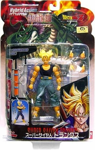 Dragonball Z BanDai 4 Inch Hybrid Action Figure Super Saiyan Trunks