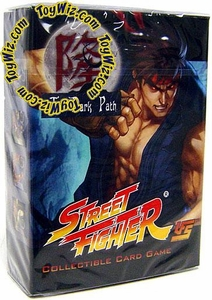 Universal Fighting System (UFS) Card Game Street Fighter Dark Path Starter Deck Evil Ryu