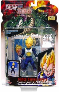Dragon Ball Z BanDai 4 Inch Hybrid Action Figure Super Saiyan Vegeta