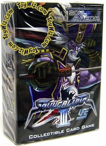Universal Fighting System (UFS) Card Game Soul Calibur III Soul Arena Starter Deck Cervantes
