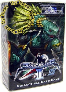 Universal Fighting System (UFS) Card Game Soul Calibur III Soul Arena Starter Deck Lizardman