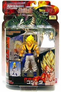 Dragon Ball Z BanDai 4 Inch Hybrid Action Figure Gogeta