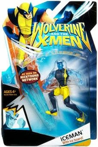 Wolverine & X-Men Animated Action Figure Iceman [With Clothes]