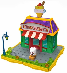 Moshi Monsters Bobble Bots Store Playset Ice Scream! with Cutie Pie [500 Rox]