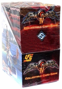 Universal Fighting System (UFS) Card Game Soul Calibur IV Quest of Souls Booster BOX [24 Packs]