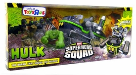 Incredible Hulk Movie Exclusive Marvel Super Hero Squad The Brawl That Shook The World
