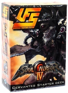 Universal Fighting System (UFS) Card Game Soul Calibur IV Starter Deck Cervantes