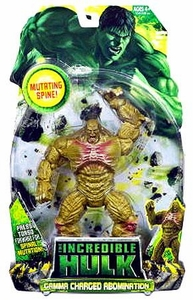 Incredible Hulk Movie Action Figure Gamma Charged Abomination