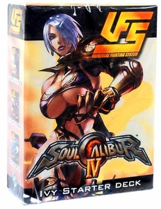 Universal Fighting System (UFS) Card Game Soul Calibur IV Starter Deck Ivy