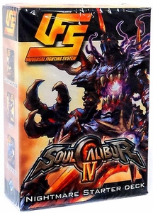 Universal Fighting System (UFS) Card Game Soul Calibur IV Starter Deck Nightmare