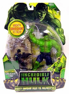 Incredible Hulk Movie Exclusive Action Figure 2-Pack Mighty Smashin' Hulk vs. Hulkbuster